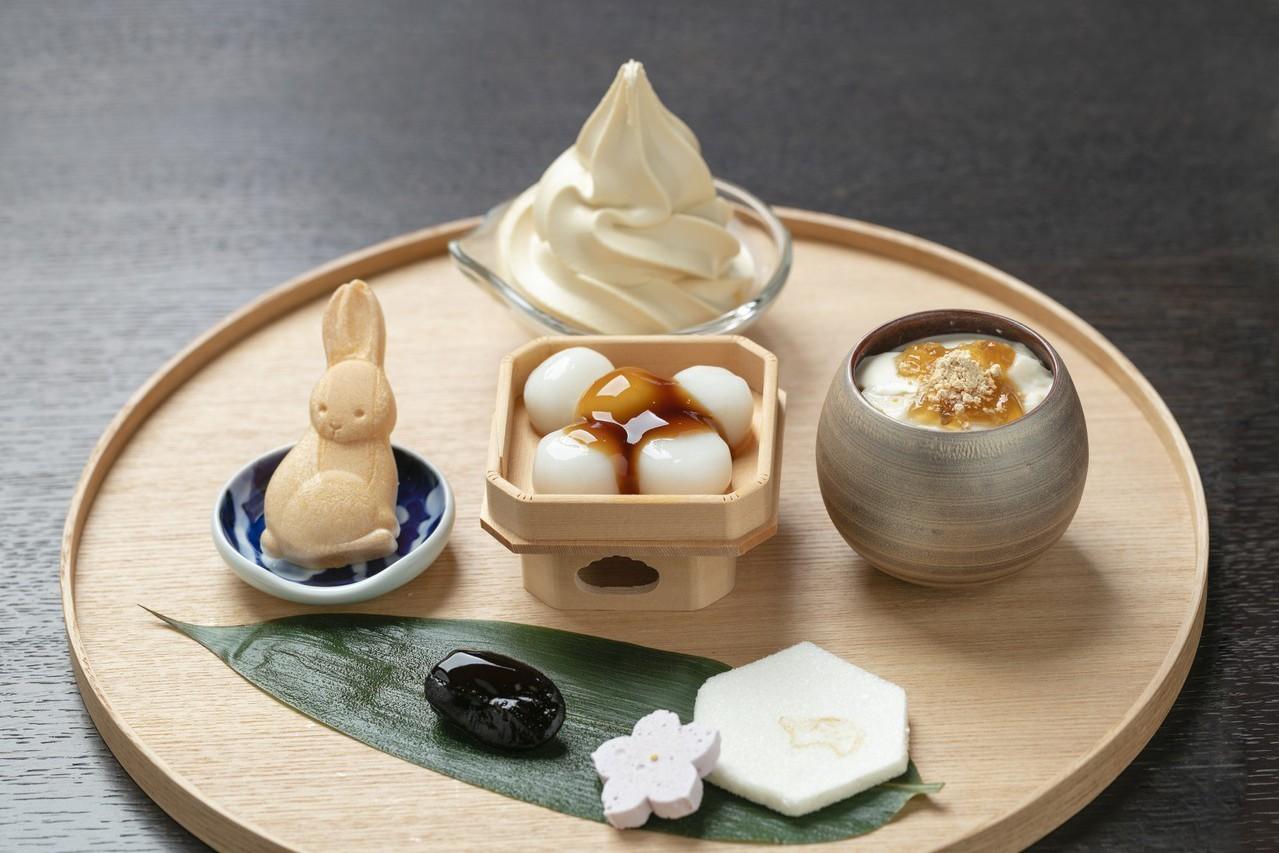 濱田醬油與日式甜點美妙碰撞。圖/業者提供