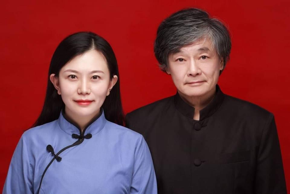 72歲著名建築師夏鑄九與32歲大陸電腦博士于上清,2月在大陸南京成婚。圖/取自呂...