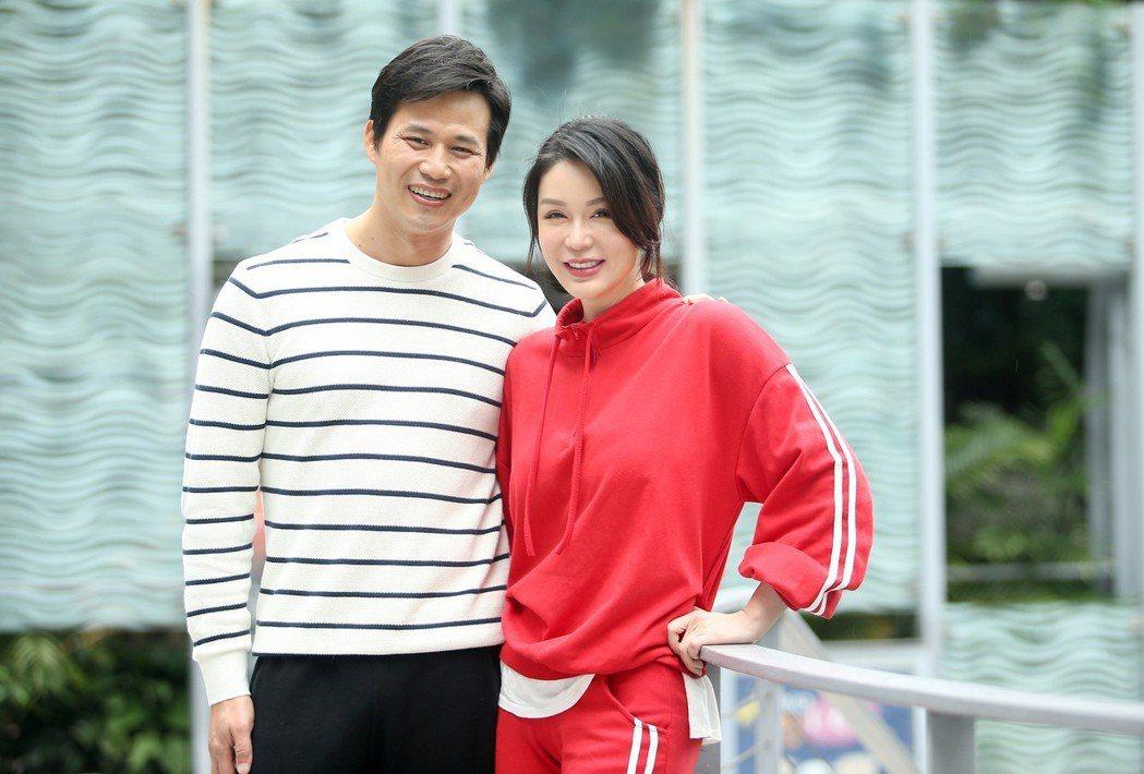 陳國華和Ivy透過節目呈現夫妻互動。記者余承翰/攝影