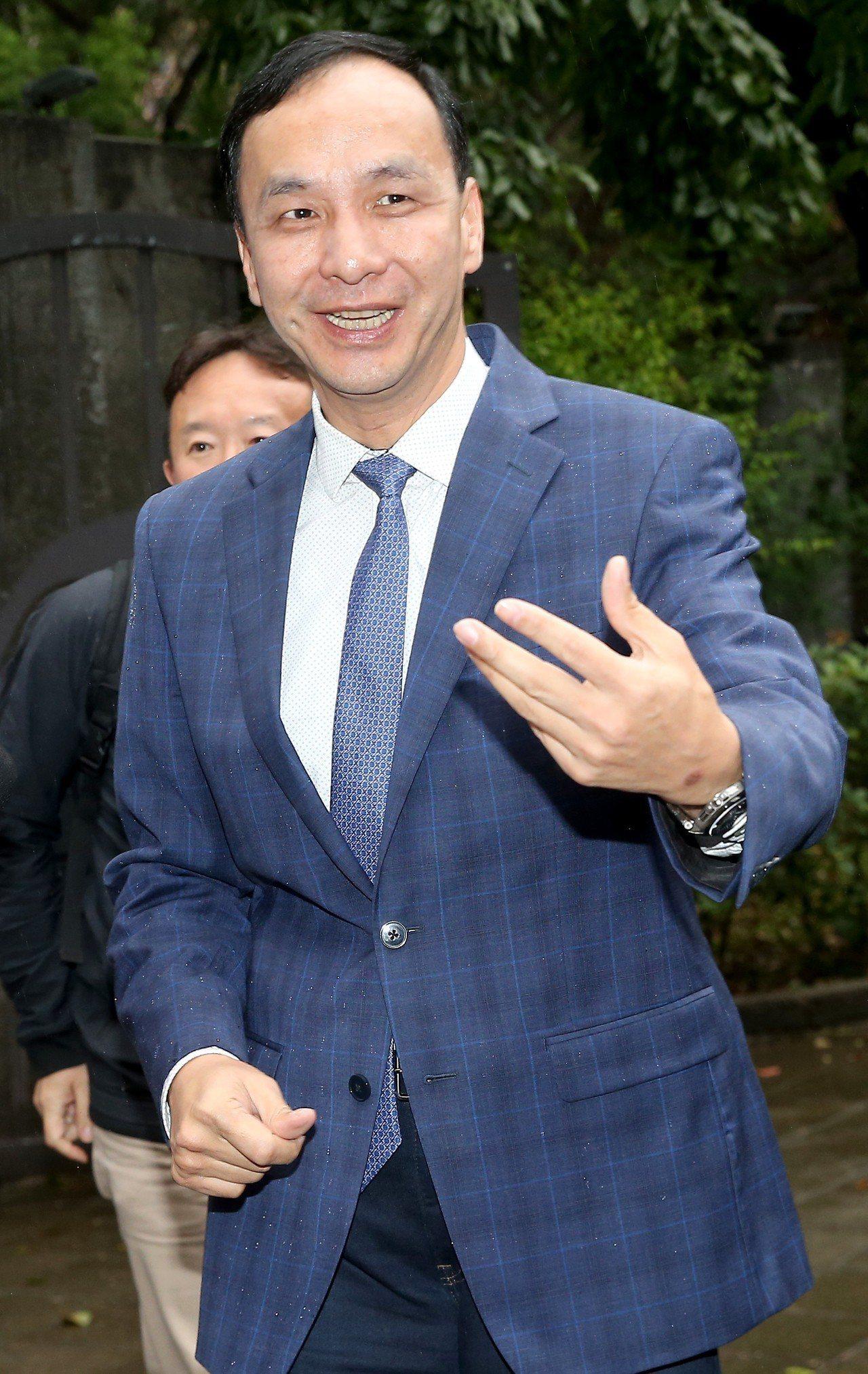 新北市前市長朱立倫積極爭取代表國民黨參選總統。本報資料照片