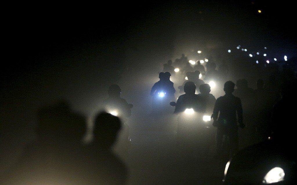 印度空汙問題相當嚴重。(美聯社)