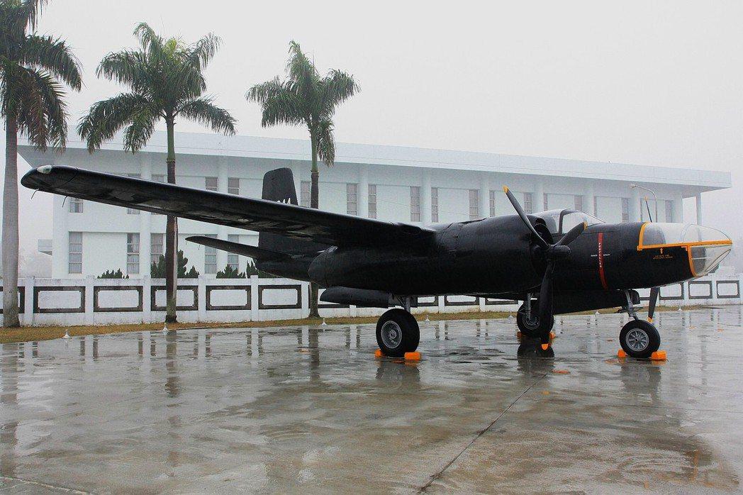 「黑蝙蝠」B-26偵察機。 圖/讀者提供