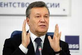 親俄的烏克蘭前總統亞努科維奇2014年被趕下台。 (美聯社)