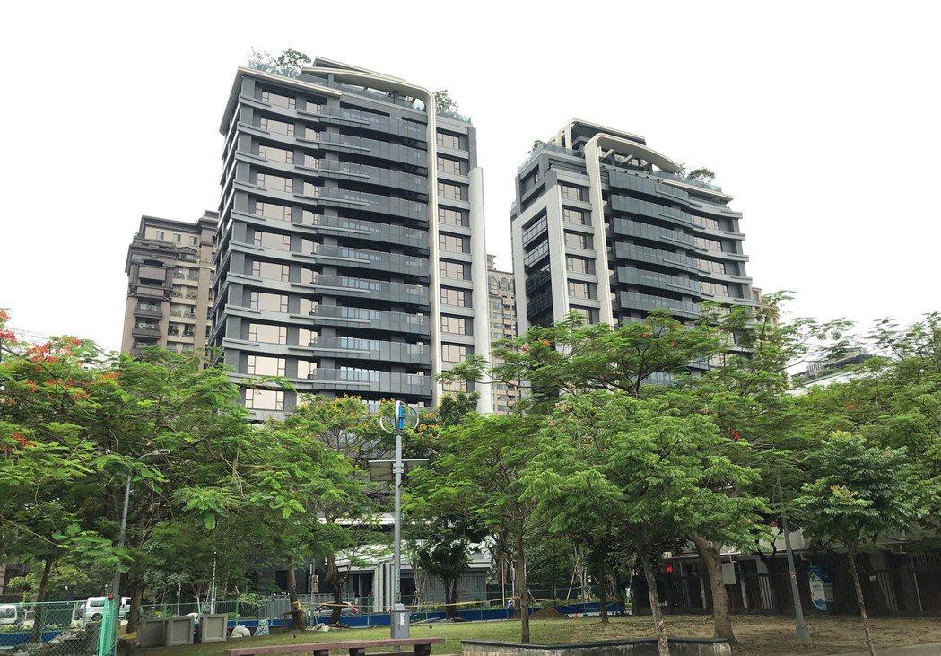 台北市指標豪宅「冠德信義」。本報系資料庫