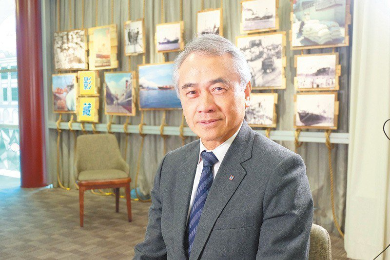 陽明海運董事長謝志堅