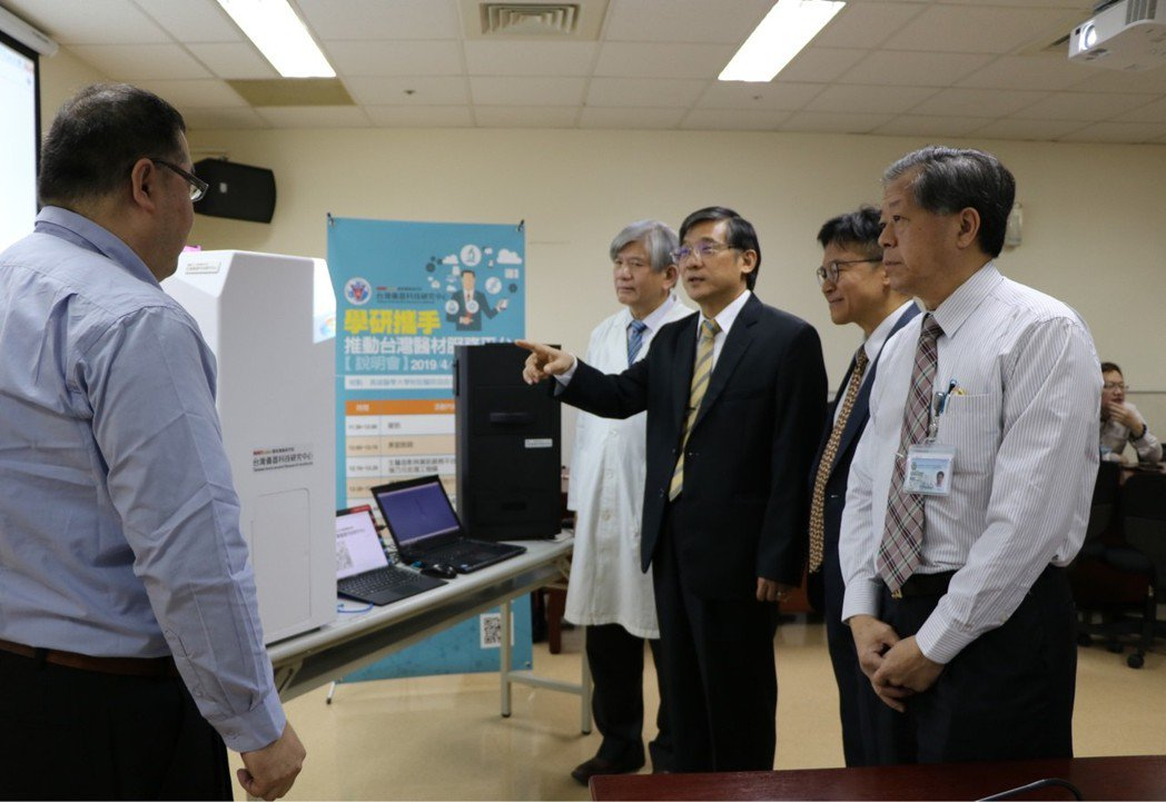 透過國研院儀科中心的服務平台,高醫大未來進行動物實驗與組織切片檢查將更有效率。...