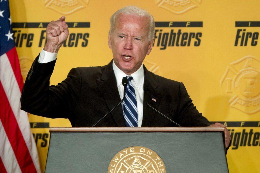 美國前副總統、民主黨總統參選人拜登。 美聯社