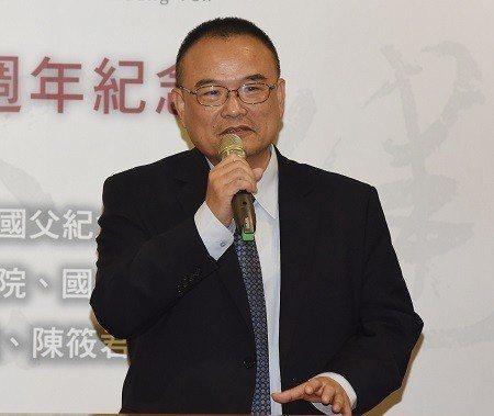 文化部政務次長蕭宗煌致詞。 國父紀念館/提供