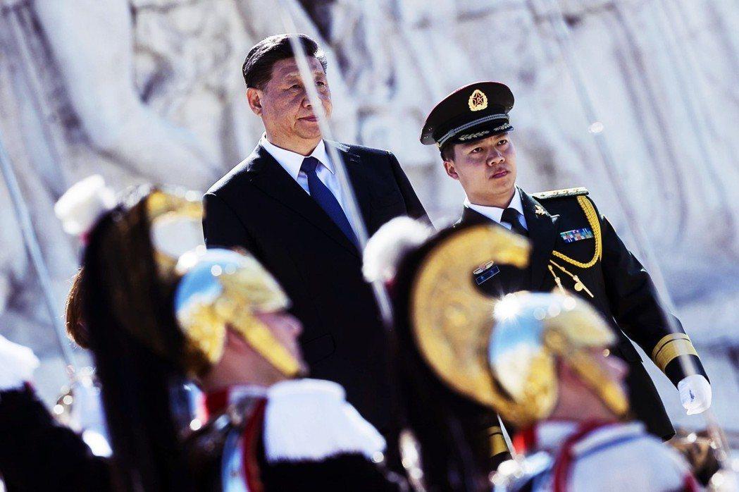「『一帶一路』通羅馬,義大利跟著『習』發大財?」圖為3月底,中國領導人習近平訪問...