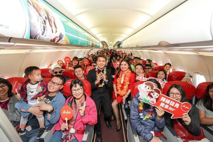 AirAsia推出台北飛長灘島優惠活動,單程未稅988元起。圖/AirAsia提...
