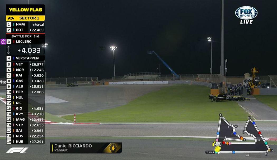 Renault車隊則是在比賽末段,2台賽車莫名的失去動力,為本場最傻眼時刻。 截...