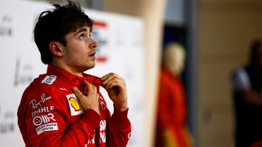 Ferrari新星Charles Leclerc。 摘自F1