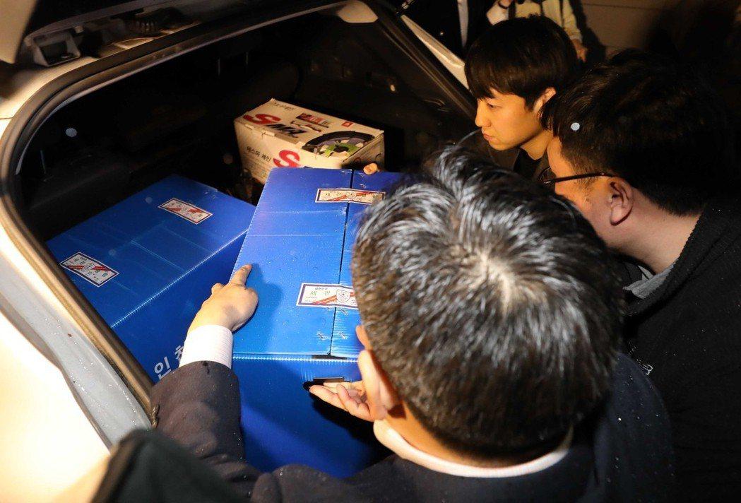 示意圖片。趙應天與郭尚道皆表示:是警方先前提交給他們虛偽的檢證資料,導致青瓦台做...