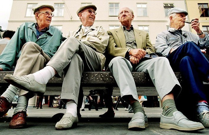 退休長輩可以透過銀泉找到新的職涯可能。圖/Karen Beate Nøsteru...