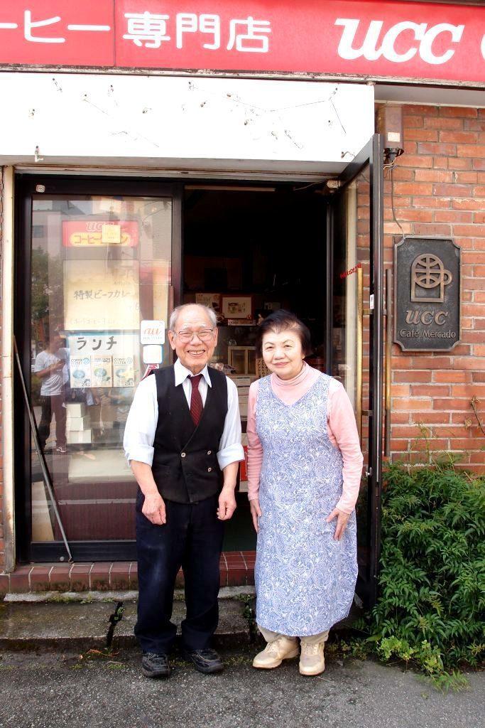 上島夫婦一同守護Cafe Mercado一共41年。攝影/李宜芸