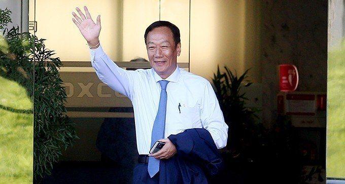 鴻海董事長郭台銘。 圖/聯合報系資料照片