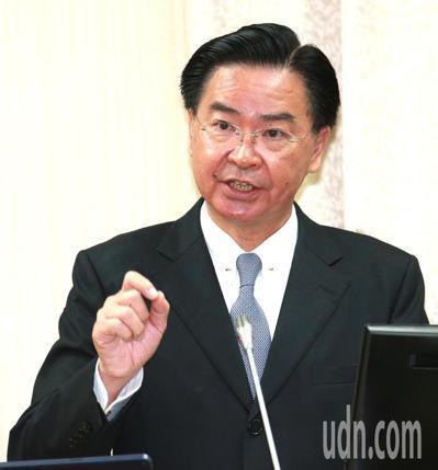 外交部長吳釗燮。 圖/聯合報系資料照片