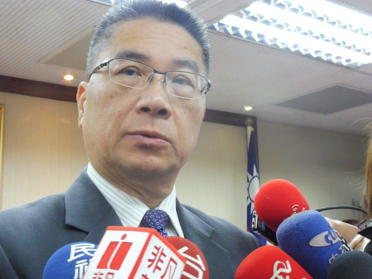 內政部長徐國勇。記者賴于榛/攝