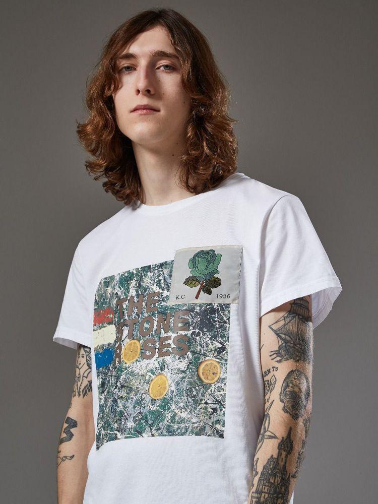 Kent & Curwen春夏限定系列印花T恤,約4,430元。圖/Kent &...