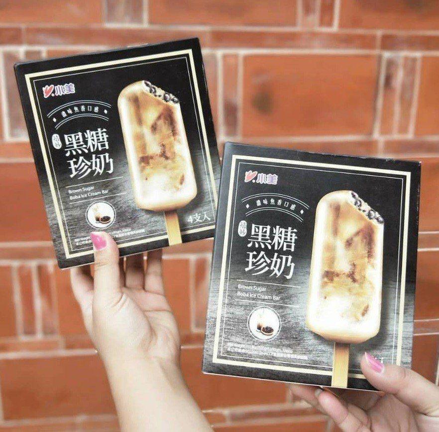 小美「黑糖珍奶雪糕」最近爆紅。圖/IG@bombomtae授權