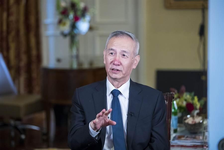 中共國務院副總理劉鶴。美聯社