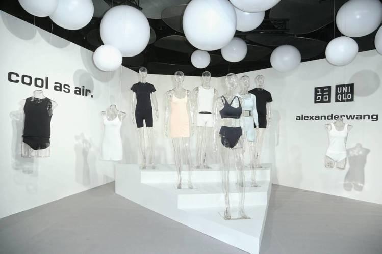 「UNIQLO and alexanderwang」AIRism聯名系列台北發表...
