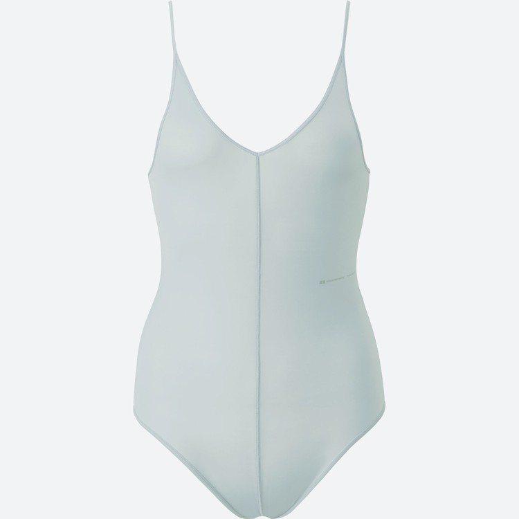 女裝AW AIRism連身細肩帶背心,990元。圖/UNIQLO提供