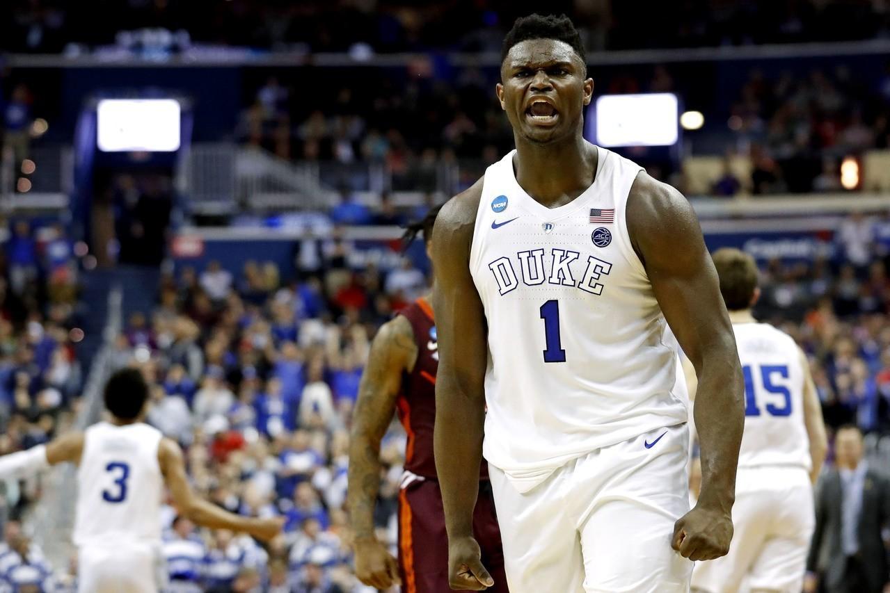 美國隊有意徵召杜克大學19歲怪物新人威廉森打世界盃男籃。 路透