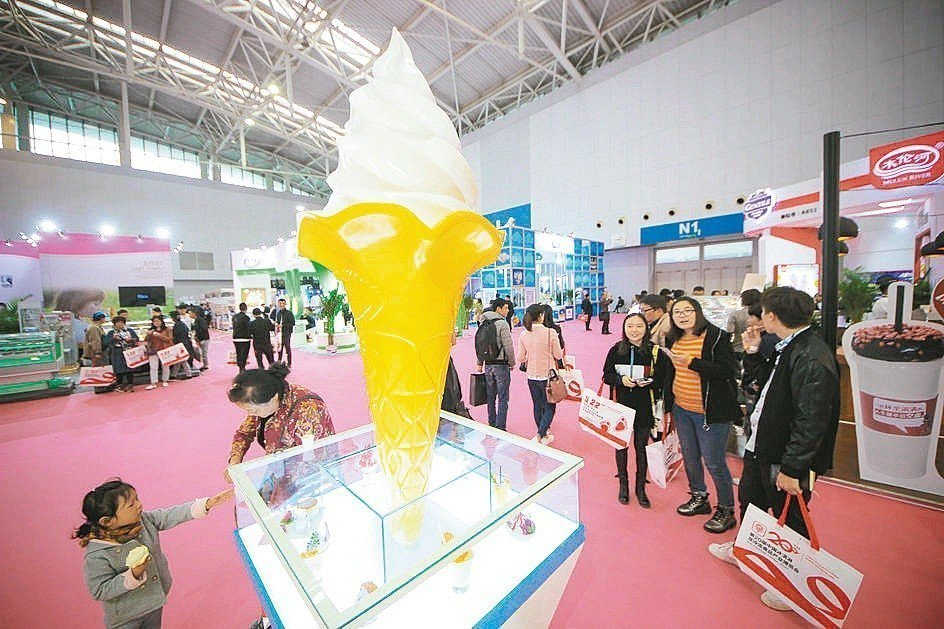 第20屆中國冰淇淋及冷凍食品產業博覽會2016年在天津開幕,吸引全球數十個國家地...
