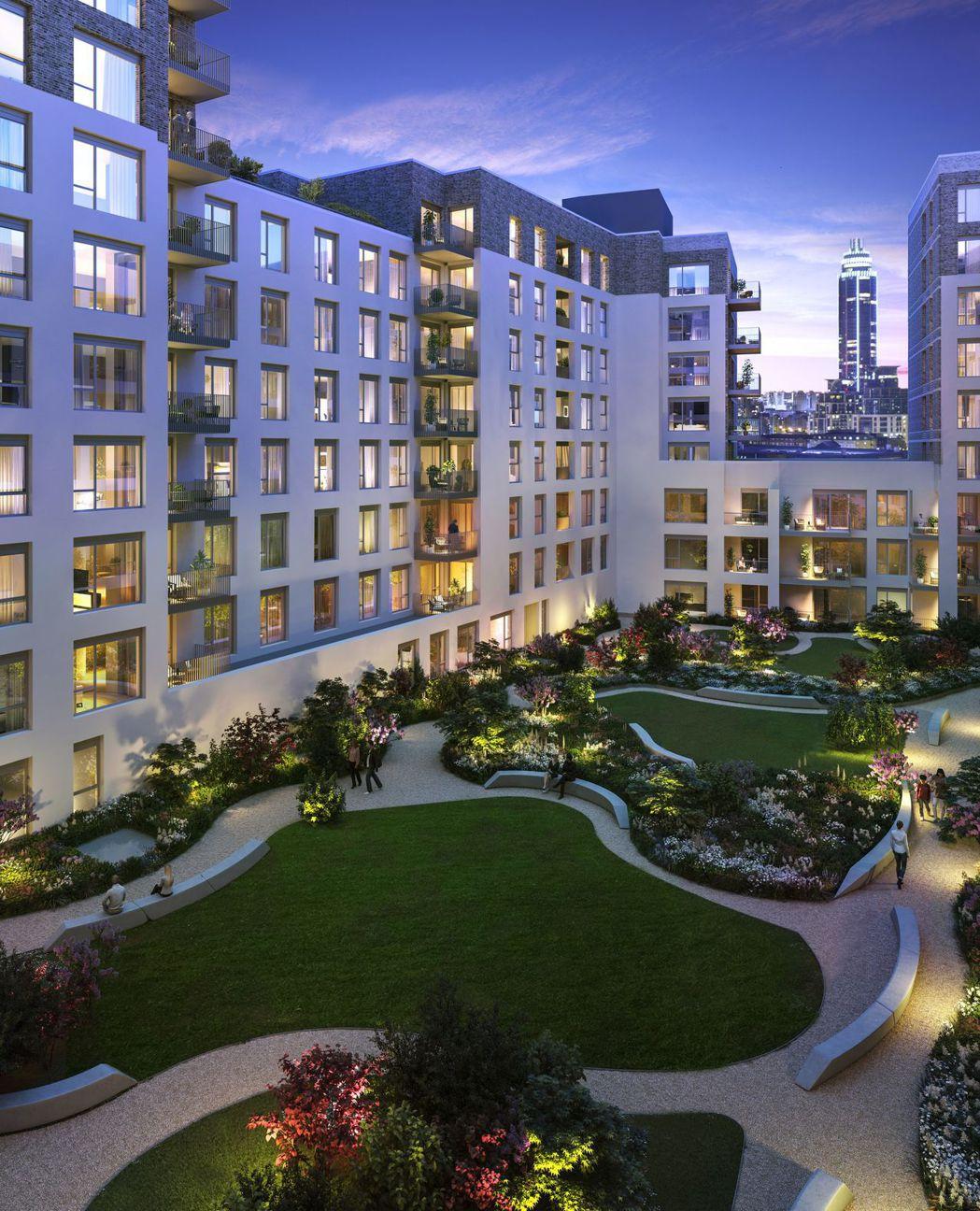 Oval Village南方圓景為倫敦市中心稀有大基地莊園社區 瑞普萊坊/提供