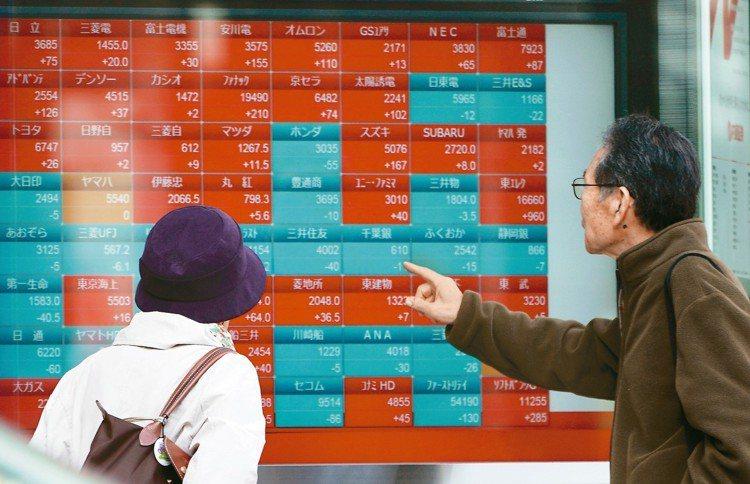 法人表示,日股基金持續看俏。 美聯社