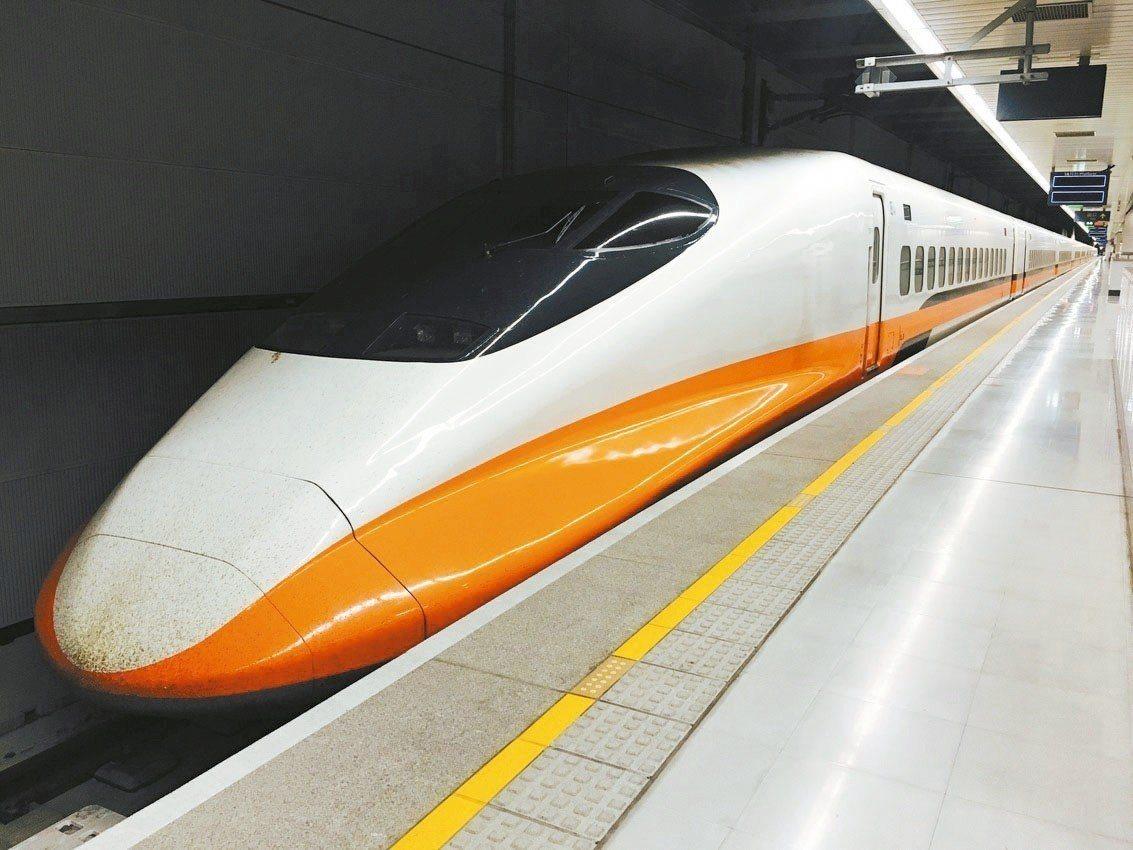 交通部昨公告高鐵最新基本費率標準,台北至高雄最多可漲至1560元。 圖╱聯合報系...