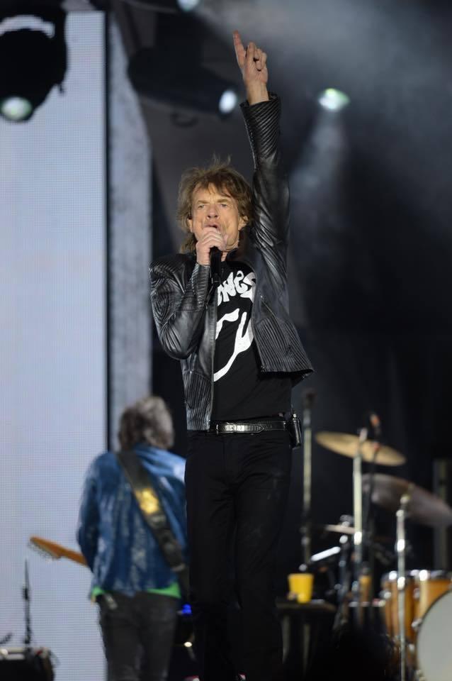 米克傑格(Mick Jagger)。圖/擷自臉書