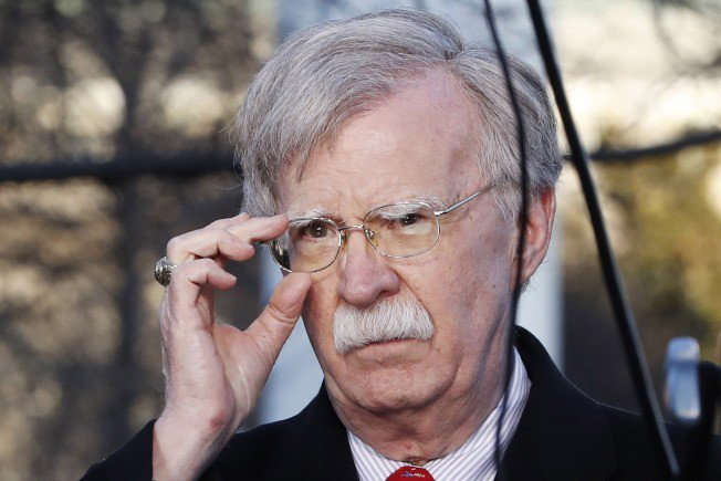 白宮國家安全顧問波頓(John Bolton)1日推文表示,中國軍事挑釁無法贏得...