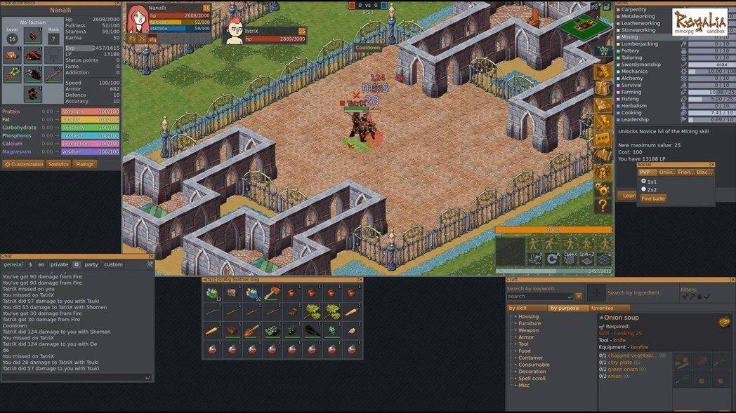遊戲內也有PvP競技場,可以和其他玩家決鬥。