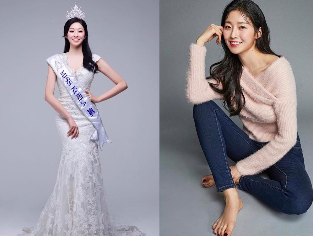 2018南韓小姐金秀珉身材高挑,174公分58公斤的她卻被南韓民眾嫌棄太胖。ph...