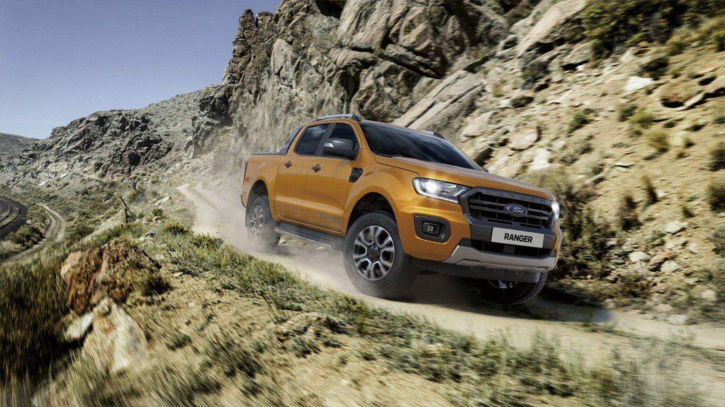 性能強悍的Ford Ranger同時提供與媲美SUV車款的乘坐舒適性和先進智慧科...