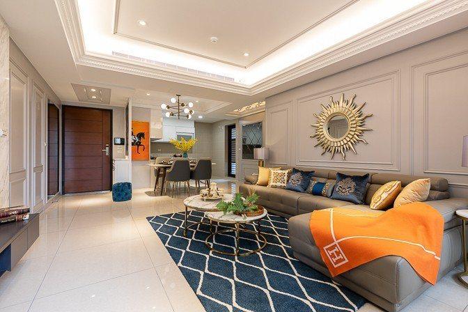 「金鶯一品」55坪大3房室內坪效優異,並三衛浴、雙套房格局