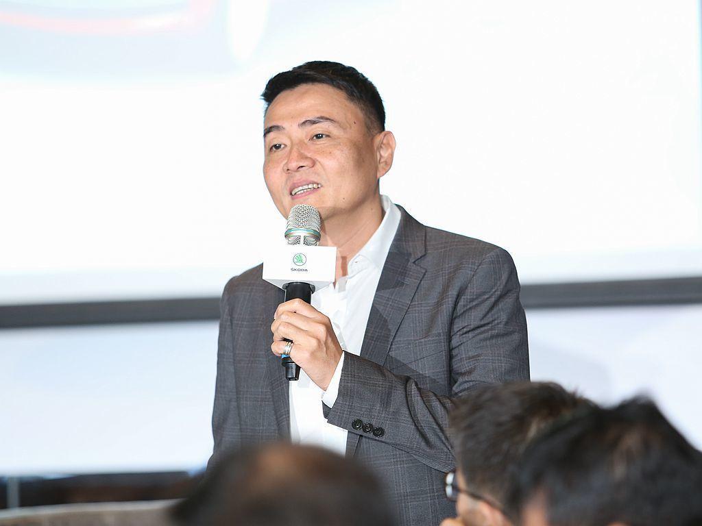 Skoda Taiwan總裁李御林表示:全省經銷通路於2015年至2018年陸續...