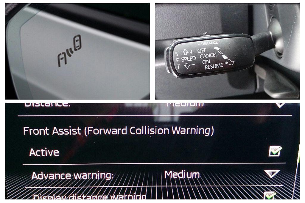 「聰明EYE套件」包括:ACC主動式定速跟車系統(含Front Assist前方...
