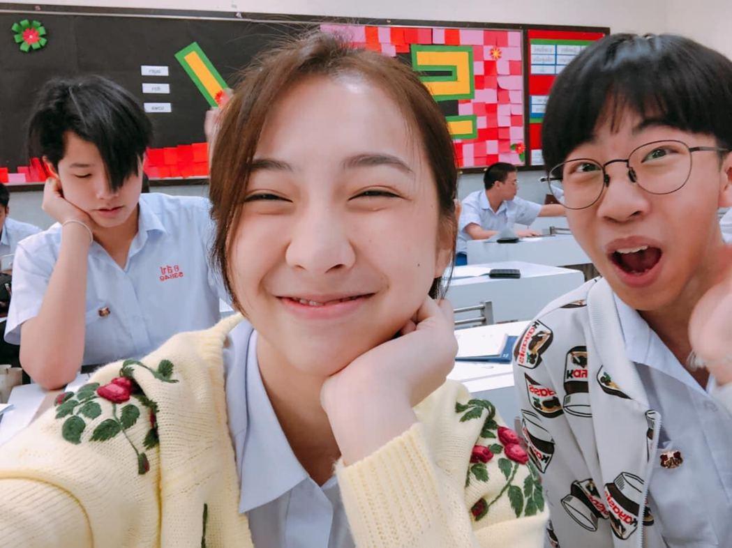 Peerada有跟日本女星廣末涼子一樣的瞇眼笑,天生明星相。圖/擷自臉書