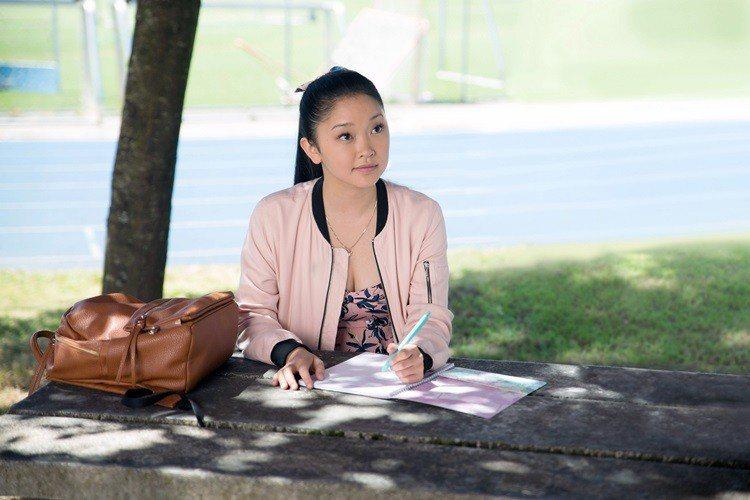 拉娜康多在Netflix電影《致所有我曾愛過的男孩》擔任女主角。圖/達志影像