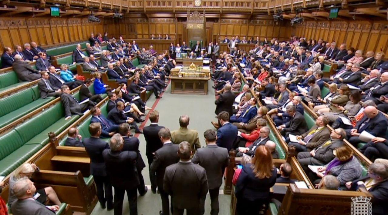 英國下議院就四項不同的政策進行投票,卻沒有一項獲得多數票。歐新社