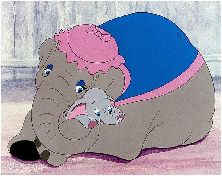 「小飛象」有感人的親情呈現。圖/摘自imdb