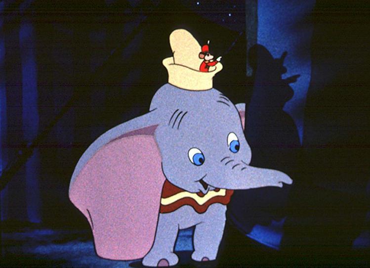 「小飛象」是華特迪士尼本人最喜歡的動畫長片作品。圖/摘自imdb