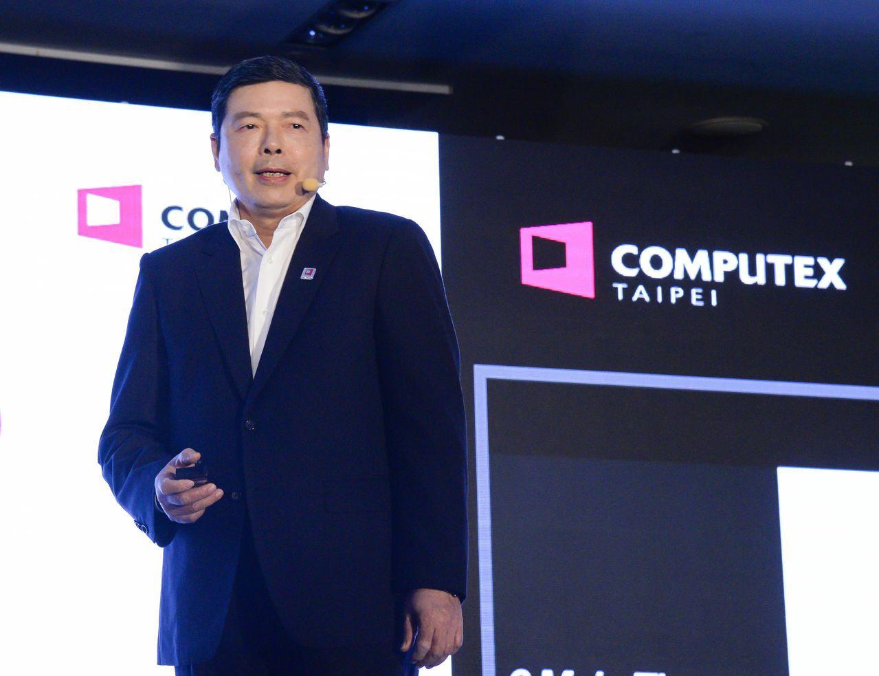 外貿協會秘書長葉明水今(2)日宣布COMPUTEX_2019展前國際記者會將於5...