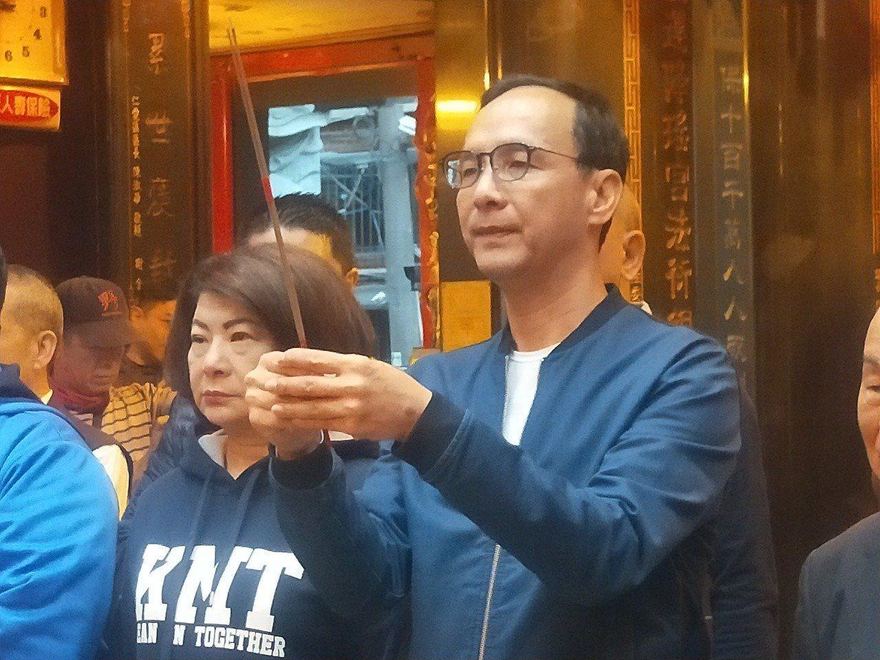 朱立倫上午說,國民黨如果要徵召韓市長就大大方方,越早表態越好,不要造成黨內困擾,...