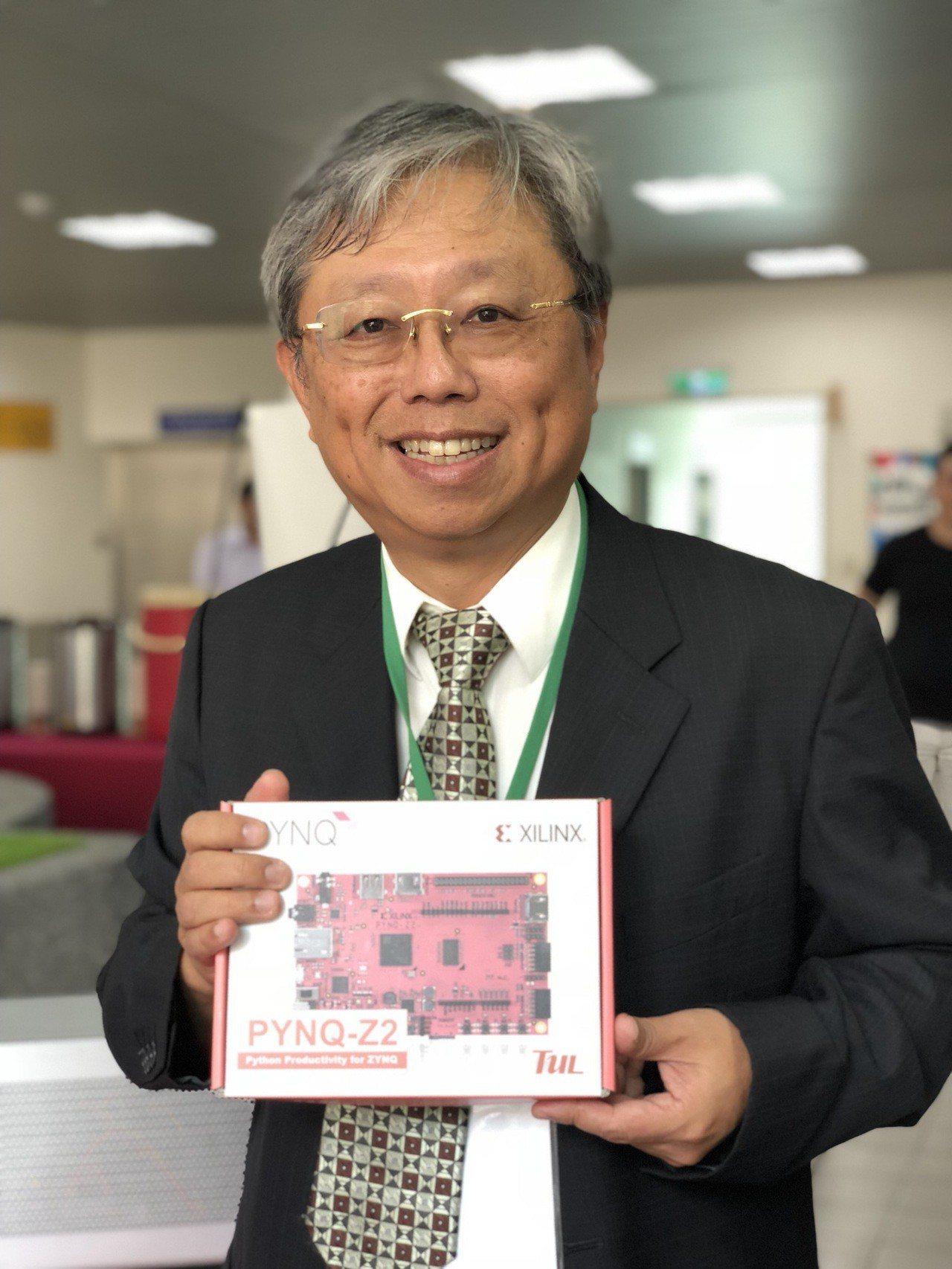 撼訊總經理陳劍威。記者蕭君暉/攝影