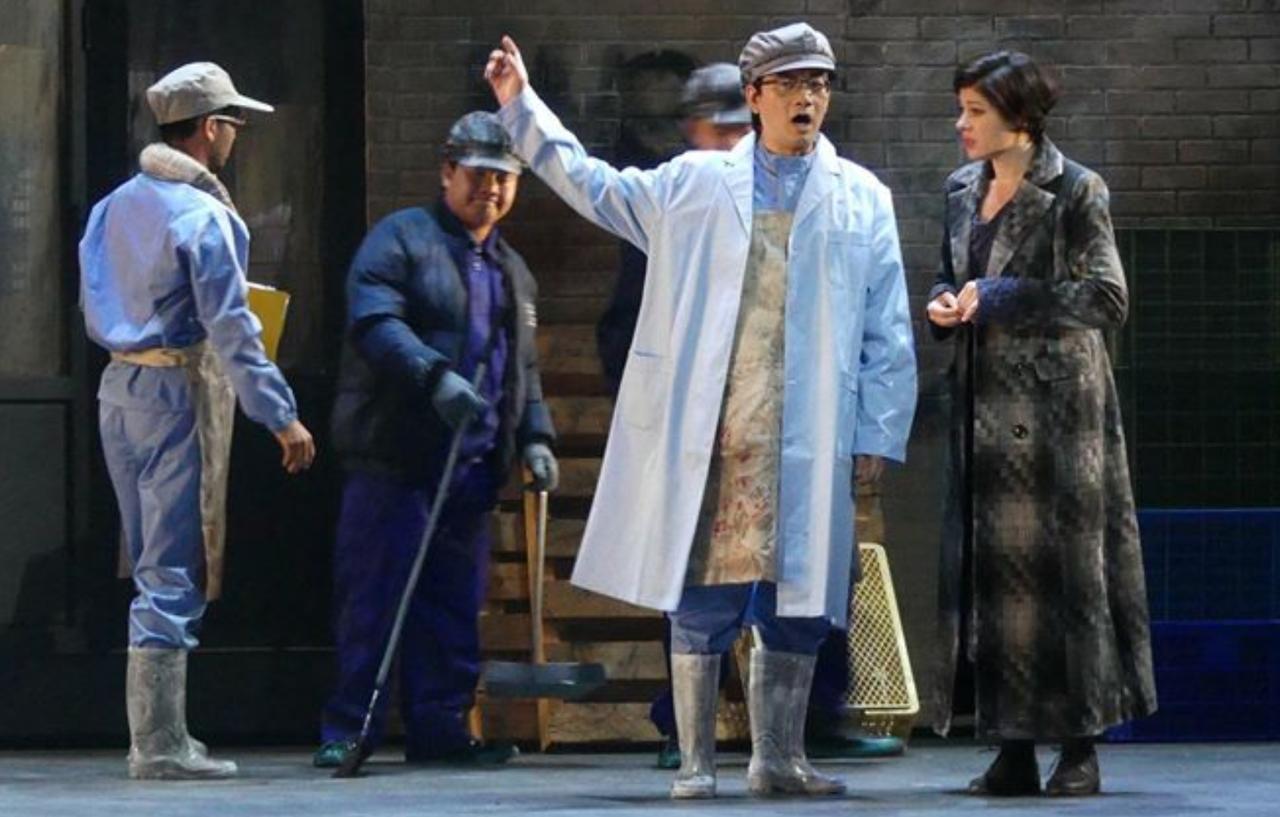 何正宇在醫院忙碌工作之外,仍未忘情「歌劇夢」,持續參與在地歌劇團體演出。圖/何正...