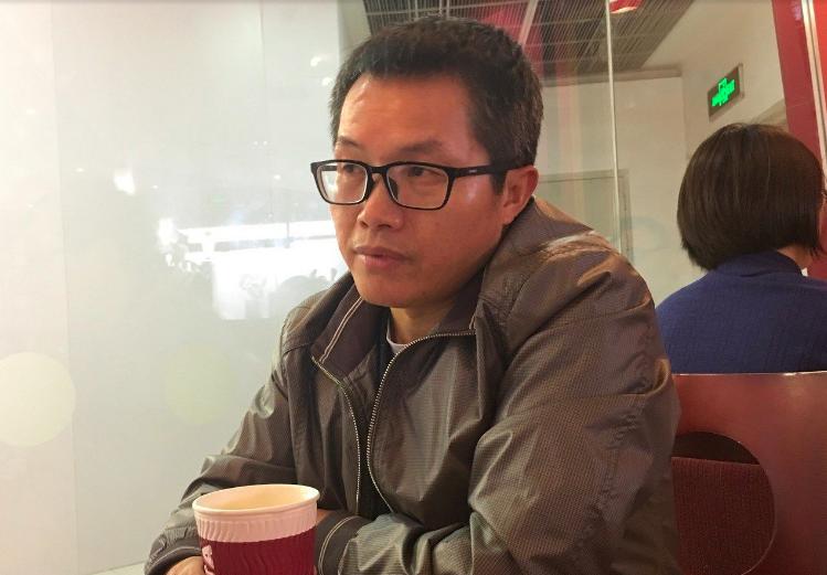 中共中央黨校校刊《學習時報》前副編審鄧聿文。圖/聯合報系資料照